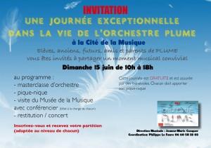 PLUME invit Cité 2014