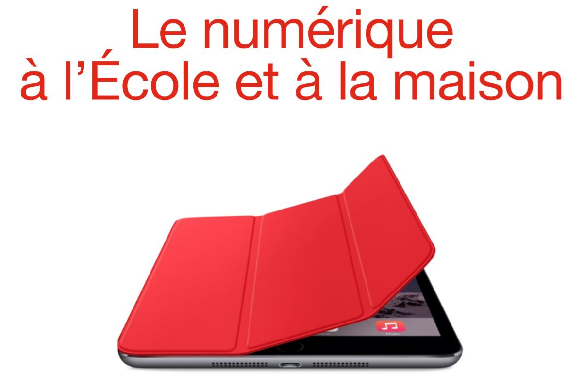 """Réunion """"Le numérique à l'école et à la maison"""" : lundi 14 novembre 2016 à 19h"""