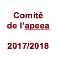 Composition du comité de l'apeea 2017/2018