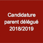 Candidature parent delegue - 2018 - 2019 Visuel- V1 25 05 2018