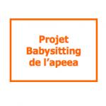 Projet Babysitting - Visuel 2015