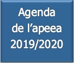 Agenda de l apeea 2019 - 2020 - v1 du 04 11 2019 pour apeea.net