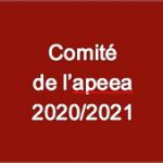 Comite apeea - 2020 2021 - V1 du 13 12 2020