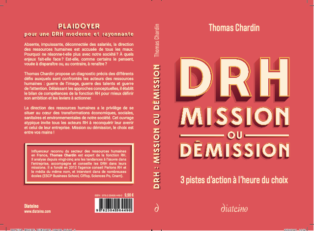 """20e conférence RésEAutez ! du mercredi 9 juin 2021 : présentation du livre """"DRH : Mission ou démission"""" par Thomas Chardin – vidéo disponible"""
